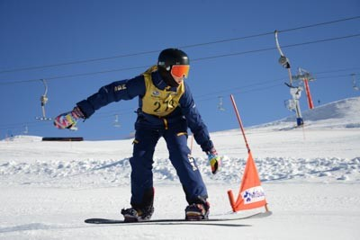 Division 2 Girls Snowboard Cross