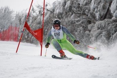 Division 1 Boys Alpine GS Action Shots