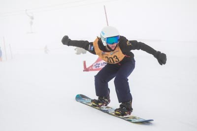 Division 3 Girls Snowboard Cross