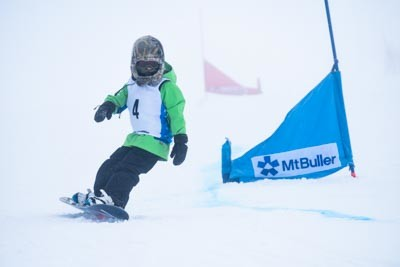 Snow Racer Snowboard