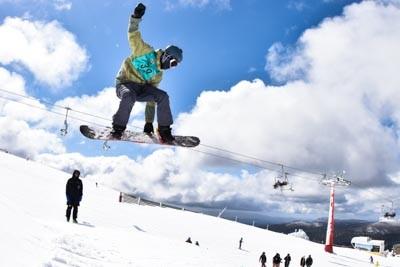 Division 2 Girls & Boys Snowboard Slopestyle
