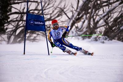 Alpine GS Div 1 Boys Race Shots