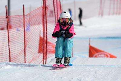King of the Mountain Skier X Training