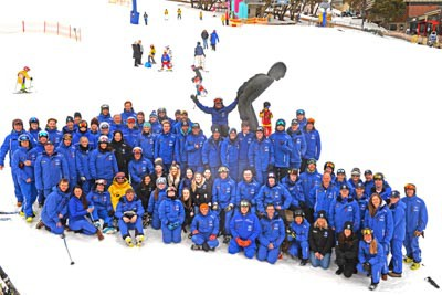 Ski School Staff Group Photo