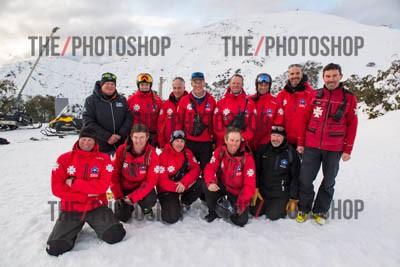 Ski Patrol Staff Photo