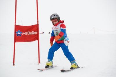 Ski School Race and Portrait photos