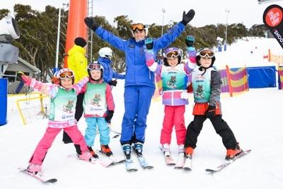 Ski School Race Day Portraits