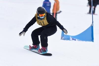 Division 1 Girls Snowboard Cross