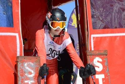 Division 3 Girls Alpine GS Gate Shots (Bib 230-121)