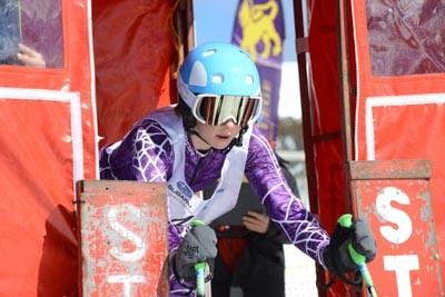 Division 3 Girls Alpine GS Gate Shots (Bib 120-1)