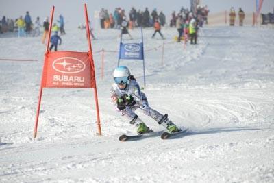 Division 3 Girls Alpine GS Action (Bib 1-120)