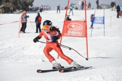 Division 3 Girls Alpine GS Action (Bib 121-230)