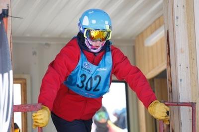 Division 2 Boys Snowboard GS Gate Shots