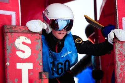 Division 3 Girls Snowboard GS Gate Shots