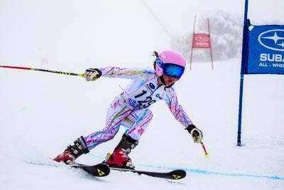 Division 5 Girls Alpine GS Action