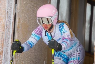 Division 2 Girls Alpine GS Gate Shots