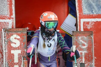Division 6 Girls Alpine GS Gate Shots