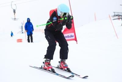 Division 4 Girls Ski Cross Final