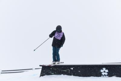 Division 2 girls Ski Slope Style