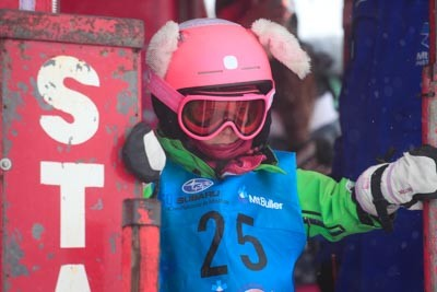 Division 5 Girls Snowboard GS Gate Shots