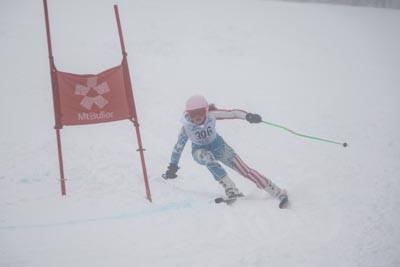 Division 3 Girls Alpine GS Action Shots