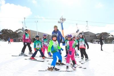 Ski School Race portraits 1