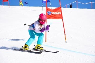 Ski School Race Day