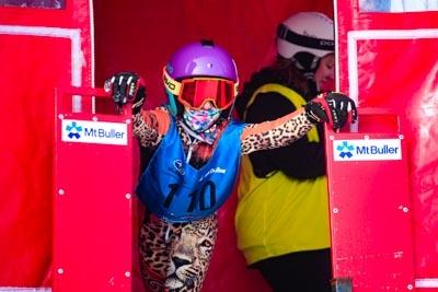 Snowboard GS Division 4 & 5 Girls Gate Shots