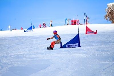 Snowboard GS Division 4 & 5 Girls –  Race Shots