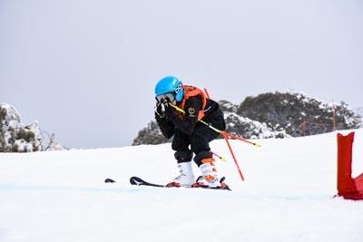 Skier Cross Division 3 Girls Bib 514 – 614