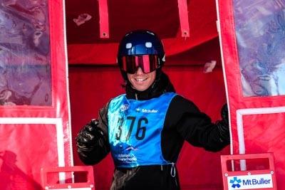 Snowboard GS Division 2 Boys – Gate Shot
