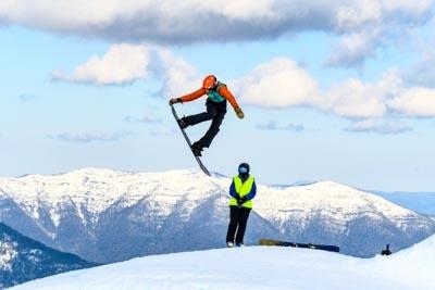Snowboard Slopestyle Division 2 Boys