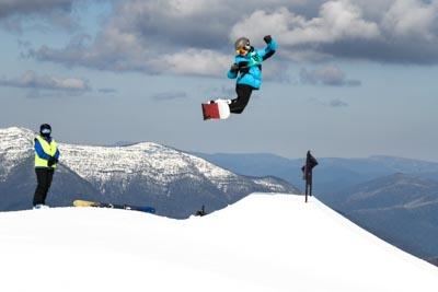 Snowboard Slopestyle Division 1 Boys