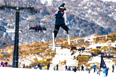 Slope Style Girls Ski Div 1 and SNB Div 2