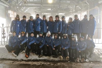 Snowboard School Staff photos