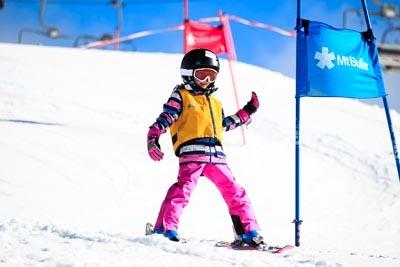 Ski School Races, Action Shots