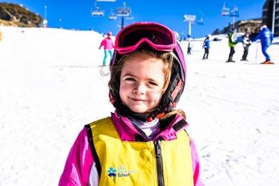 Ski School Races, Portrait Shots