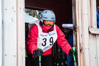 Division 3 boys Challenger Alpine GS – Gate Shots