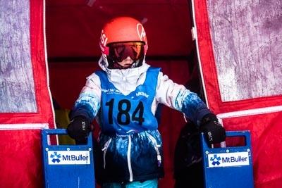 Division 5 & 4 Girls Snowboard GS – Gate Shots