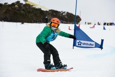 Division 5 & 4 Boys Snowboard GS – Race Shots