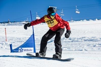 Division 3 Boys Snowboard Cross Qualifier