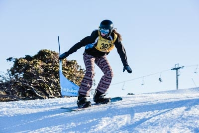 Division 2 Girls Snowboard Cross Final