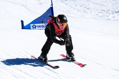 Division 2 Girls Ski Cross bib 420 -504