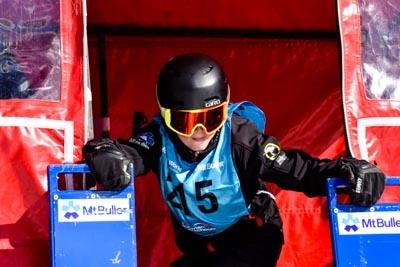 Division 3 Boys Snowboard GS Gate Shots