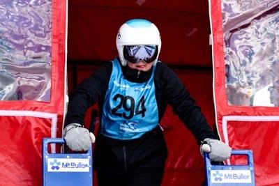 Div 3 Girls Snowboard GS Gate Shots