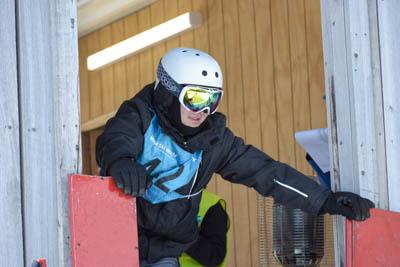 Div 1 Snowboard GS Boys Gate photos