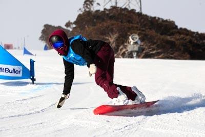 Div 1 Girls Snowboard GS