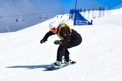 Division 1 Girls Snowboard Cross Qual and Final
