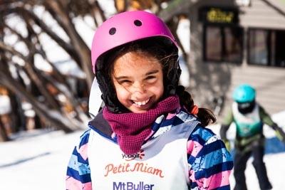 Ski School Race Portrait Shots