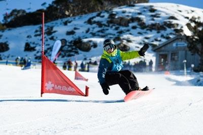 Division 2 Boys Snowboard GS – Race Shots